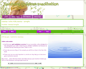slide of meditation mp3
